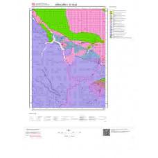 E19a3 Paftası 1/25.000 Ölçekli Vektör Jeoloji Haritası