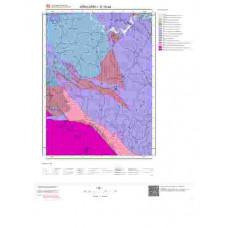 E 19-a4 Paftası 1/25.000 ölçekli Jeoloji Haritası