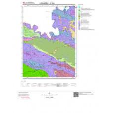 E19b1 Paftası 1/25.000 Ölçekli Vektör Jeoloji Haritası