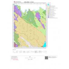 E19b2 Paftası 1/25.000 Ölçekli Vektör Jeoloji Haritası