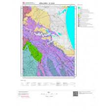 E 19-b3 Paftası 1/25.000 ölçekli Jeoloji Haritası