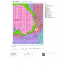 E19b4 Paftası 1/25.000 Ölçekli Vektör Jeoloji Haritası
