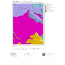 E 19-c1 Paftası 1/25.000 ölçekli Jeoloji Haritası