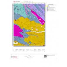 E19c2 Paftası 1/25.000 Ölçekli Vektör Jeoloji Haritası