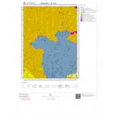 E19c3 Paftası 1/25.000 Ölçekli Vektör Jeoloji Haritası
