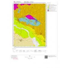 E19c4 Paftası 1/25.000 Ölçekli Vektör Jeoloji Haritası