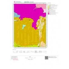 E19d1 Paftası 1/25.000 Ölçekli Vektör Jeoloji Haritası