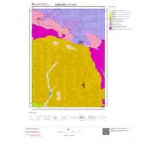 E19d2 Paftası 1/25.000 Ölçekli Vektör Jeoloji Haritası
