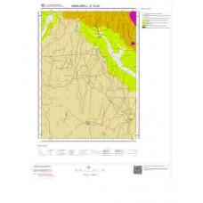 E19d3 Paftası 1/25.000 Ölçekli Vektör Jeoloji Haritası