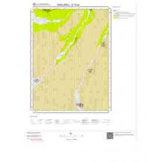 E19d4 Paftası 1/25.000 Ölçekli Vektör Jeoloji Haritası