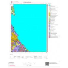 E 20 Paftası 1/100.000 ölçekli Jeoloji Haritası