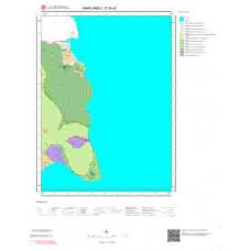 E20a1 Paftası 1/25.000 Ölçekli Vektör Jeoloji Haritası