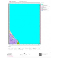 E20a4 Paftası 1/25.000 Ölçekli Vektör Jeoloji Haritası