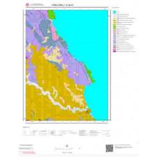 E 20-d1 Paftası 1/25.000 ölçekli Jeoloji Haritası
