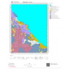 E20d3 Paftası 1/25.000 Ölçekli Vektör Jeoloji Haritası