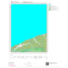 E27c3 Paftası 1/25.000 Ölçekli Vektör Jeoloji Haritası