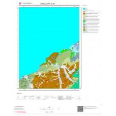 E28 Paftası 1/100.000 Ölçekli Vektör Jeoloji Haritası