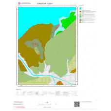E28c1 Paftası 1/25.000 Ölçekli Vektör Jeoloji Haritası