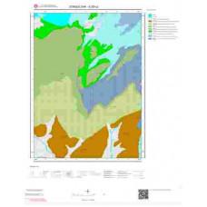 E28c2 Paftası 1/25.000 Ölçekli Vektör Jeoloji Haritası