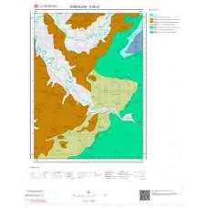 E28c3 Paftası 1/25.000 Ölçekli Vektör Jeoloji Haritası
