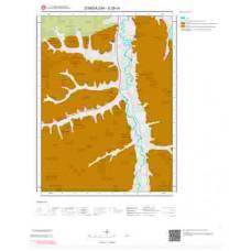 E28c4 Paftası 1/25.000 Ölçekli Vektör Jeoloji Haritası