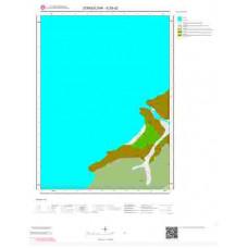 E28d2 Paftası 1/25.000 Ölçekli Vektör Jeoloji Haritası