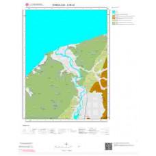 E28d4 Paftası 1/25.000 Ölçekli Vektör Jeoloji Haritası