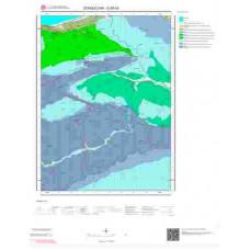 E29b3 Paftası 1/25.000 Ölçekli Vektör Jeoloji Haritası