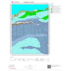 E29b4 Paftası 1/25.000 Ölçekli Vektör Jeoloji Haritası