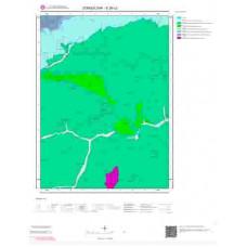 E29c2 Paftası 1/25.000 Ölçekli Vektör Jeoloji Haritası