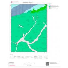 E29d4 Paftası 1/25.000 Ölçekli Vektör Jeoloji Haritası