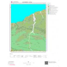 E30a2 Paftası 1/25.000 Ölçekli Vektör Jeoloji Haritası