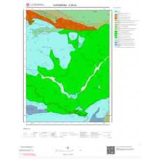 E30a3 Paftası 1/25.000 Ölçekli Vektör Jeoloji Haritası
