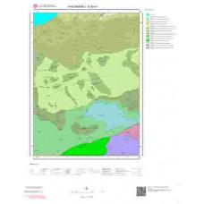 E30b1 Paftası 1/25.000 Ölçekli Vektör Jeoloji Haritası