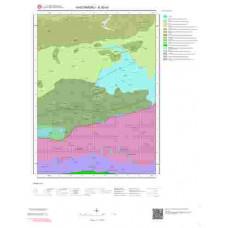E30b2 Paftası 1/25.000 Ölçekli Vektör Jeoloji Haritası