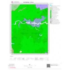 E30b4 Paftası 1/25.000 Ölçekli Vektör Jeoloji Haritası
