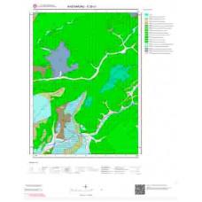 E30c1 Paftası 1/25.000 Ölçekli Vektör Jeoloji Haritası