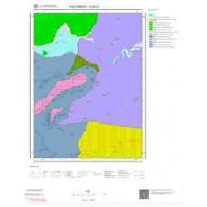 E30c3 Paftası 1/25.000 Ölçekli Vektör Jeoloji Haritası