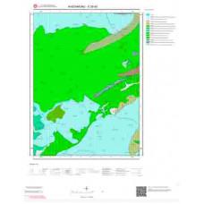 E30d2 Paftası 1/25.000 Ölçekli Vektör Jeoloji Haritası