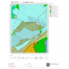 E30d3 Paftası 1/25.000 Ölçekli Vektör Jeoloji Haritası