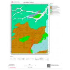 E30d4 Paftası 1/25.000 Ölçekli Vektör Jeoloji Haritası