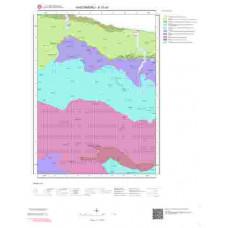 E31a1 Paftası 1/25.000 Ölçekli Vektör Jeoloji Haritası