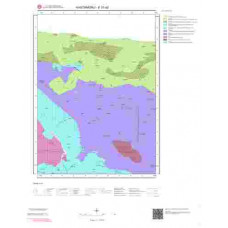 E31a2 Paftası 1/25.000 Ölçekli Vektör Jeoloji Haritası