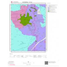 E31a3 Paftası 1/25.000 Ölçekli Vektör Jeoloji Haritası