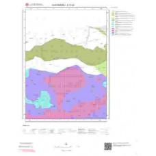 E31b2 Paftası 1/25.000 Ölçekli Vektör Jeoloji Haritası