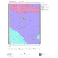 E31b3 Paftası 1/25.000 Ölçekli Vektör Jeoloji Haritası
