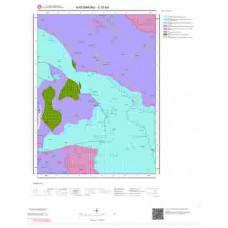 E31b4 Paftası 1/25.000 Ölçekli Vektör Jeoloji Haritası