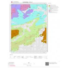 E31c1 Paftası 1/25.000 Ölçekli Vektör Jeoloji Haritası