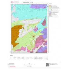 E31c2 Paftası 1/25.000 Ölçekli Vektör Jeoloji Haritası