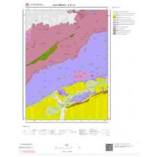 E31c3 Paftası 1/25.000 Ölçekli Vektör Jeoloji Haritası